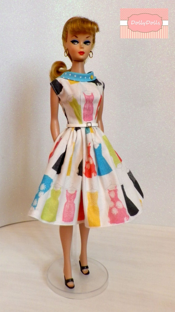 Closet Collection: My Closet Collection. Vintage Style Dress For Barbie Dolls By