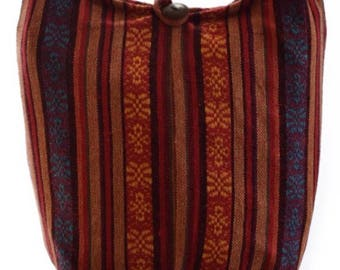 Hippy bag, Woven cotton shoulder bag. Messenger,Hippie, Gypsy, Sling,Hippy, Hobo, Crossbody.