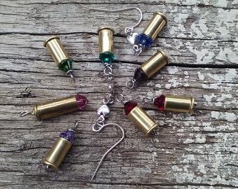 22 short bullet pendants 6 bullet charms