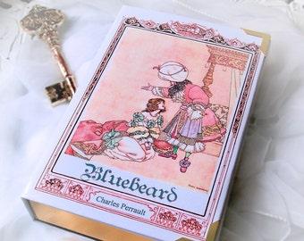 Book Clutch BLUEBEARD Fairy tale, customizable