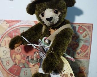 Gavroche, Handmade bear, unique piece