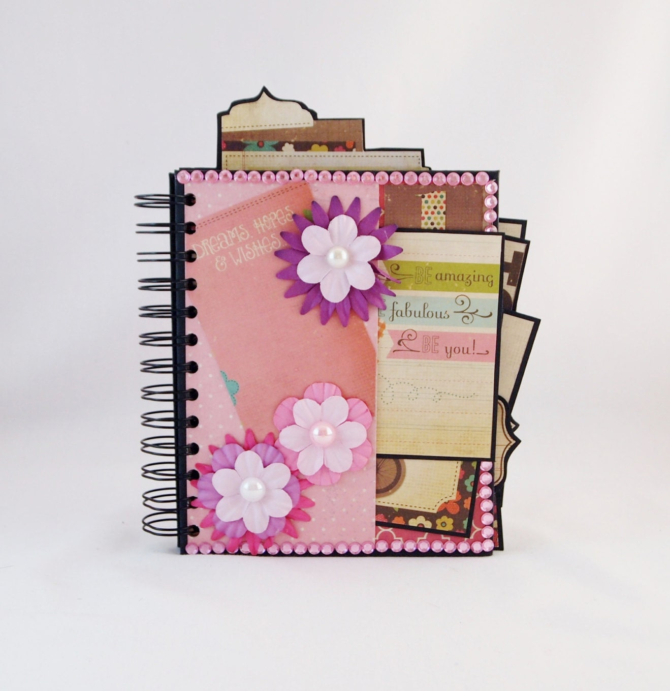 How to scrapbook wedding album - Sold By Foreveryourshandmade