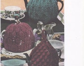 Tea Cosy Bestway 3650 knitted tea cosy tea cosy knitting pattern crochet tea cosy knitting pattern vintage knitting pattern