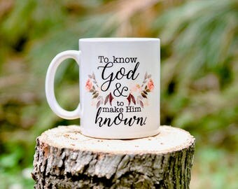 Classical Conversations Gift, Classical Conversations Tutor Gift, Classical Conversations Director Gift, To know God and to make Him Known