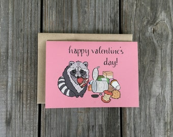 Valentine Card Set, Valentines Day Note Cards, Funny Valentine Set