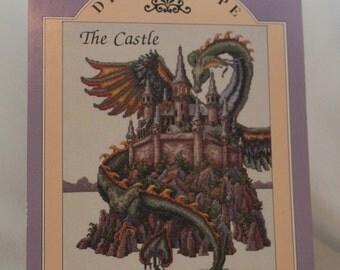 "Teresa Wentzler's Dreamscape ""The Castle"" Leaflet OOP Just Cross Stitch"