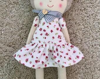 Cloth Doll-Soft doll-Handmade doll