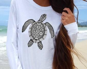 Best Turtle T Shirt- Turtle Shirt- t Shirt Turtle- Turtle Tee- Turtle Tee Shirt- Turtle Clothing- Turtle Print Shirt-Turtle Shirts for Woman
