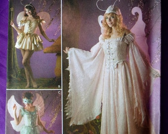 Simplicity Costumes for Adults Pattern 3675 Fairy Makes Size 14 to 20