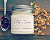 Rosehip Jasmine Mason Jar Soy candle