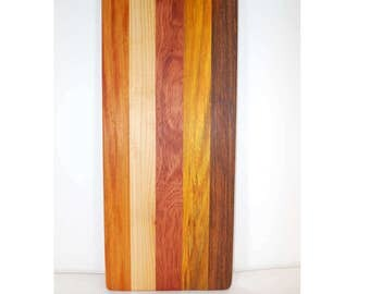 Small wooden cutting board, cheese board, bread board, kitchen board (#117)