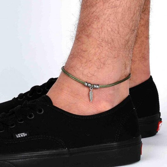 Men's Anklet Men's Ankle Bracelet Anklet For Men. Vintage Gold Necklace. Sapphire Stud Earrings. Filigree Rings. Thin Chains. Treated Diamond. Platinum And Gold Mens Wedding Band. Fat Rings. Entwined Wedding Rings