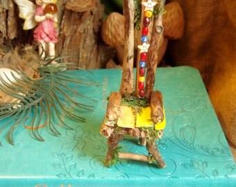 Whimsical Beads Fairy Chair