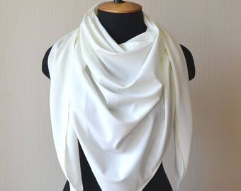 White scarf bridal shawl gifts|for|her|birthday bridal wrap white shawl summer scarf bridesmaid shawl mom gifts bridal cover up gift scarf