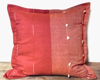 Jami Throw Pillow with Pom Poms