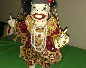 Nandawun Myanmar Porcelain Marionette Puppet