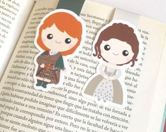 Outlander Magnetic Bookmark - Outlander Wedding - Outlander Wedding Bookmark