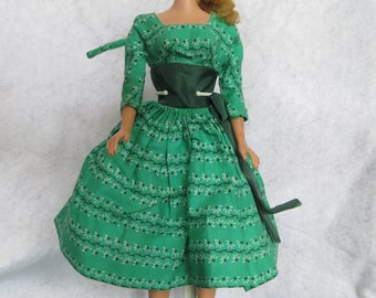 Vintage Barbie Blonde Ponytail doll in Barbie Tagged Swingin' Easy with Japan Shoes by Mattel