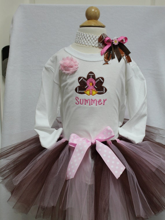 f735aa07f DollyWollySewing - Girls Thanksgiving outfit,Turkey shirt,Football ...
