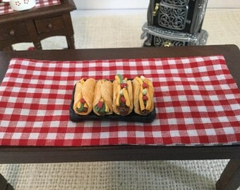 Tacos and Burritos or for 1:12 Scale Dollhouse or Barbie