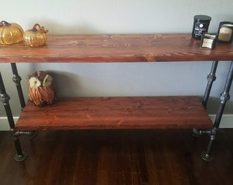 industrial console table union edition