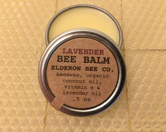LAVENDER BEE BALM // 100% natural // multipurpose balm // beeswax balm