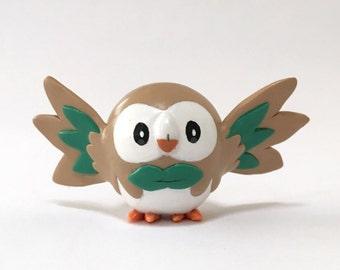 Custom Poymer Clay Pokemon Figurine, Handmade Nintendo Figure
