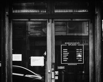 Business Hours Window Decal - Custom Logo Decal / Storefront Decal / Store Hours / Store Logo