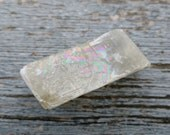 Pale Yellow Viking Sunstone / Optical Calcite - 70.8 grams - Golden, Honey Iceland Spar, Natural Prism, Rainbows, Prismatic, Rainbow Calcite
