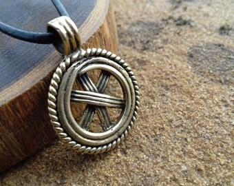 Slavic Pendant, Gromovnik, Yarovrat, Replica, Kolovrat Symbol, Amulet, Pagan Jewelry, Norse, Medieval, asatru, talisman, viking pendant
