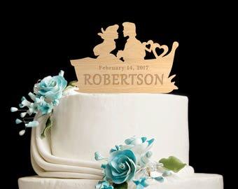 Cake topper,wooden cake,little mermaid wedding,little mermaid cake topper,little mermaid cake,little mermaid wedding cake topper,5632017