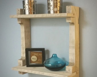Rustic Reclaimed Shelf