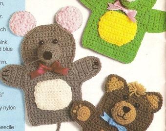 Vintage Playtime Puppets Crochet Pattern