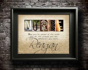 Nurse Gift, DIGITAL, Nurse Thank You Gift, Nurse Quotes, Thanks Nurse, Nurse Gifts, Personalized Nurse Gift, Nurse Gift Ideas, PRINTABLE