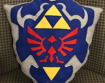Hylian Shield - Zelda Pillow