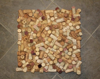 Wine Cork Board- Abstract (14x14)