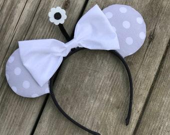 Classic Minnie Ears - Disney Ears -  Minnie Ears - Mickey Ears