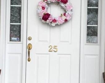 Custom Floral Wreath