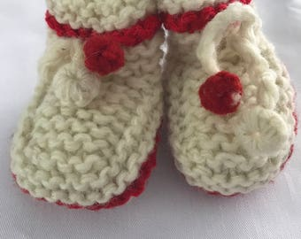 Infant Wool Slipper Socks