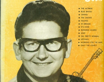 ROY ORBISON Songbook | Piano Vocal Guitar | Oh Pretty Woman Uptown Crying Only the Lonely Running Scared In Dreams MORE