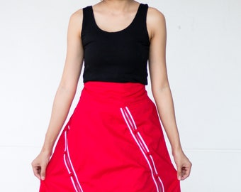 FREE SHIPPING--SN001--Cute cotton skirt .
