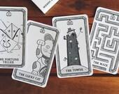 The New Arcana - An Original Tarot Card Deck Made for Modern Times