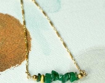 Onyx Bracelet, Simple Bracelet, May Birthstone Bracelet, Dainty Bracelet, Green Onyx Bracelet, Layering Bracelet, Bar Bracelet