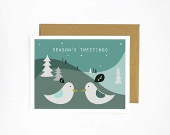 Season's Tweetings Holiday Card
