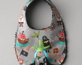 Baby Boy Binky Bib in Ril...