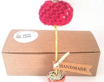 Gift for teacher; teachers present; end of term gift; apple decoration; miniature decoration