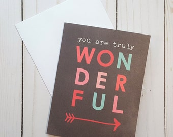 Anniversary Card, Love Greeting Card, I Love You Card, Encouragement Card, Valentines Day Card, Arrow Card
