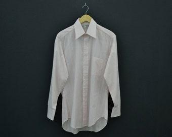 Sears Shirt Vintage Sears Perma Prest Dress Shirt 15 1/2 34 Mens Size L