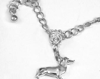 Daschund (Charm Only) dog weiner dog  charm Best friend  Dog  Daschund charm  Daschund jewelry best jewelry gift