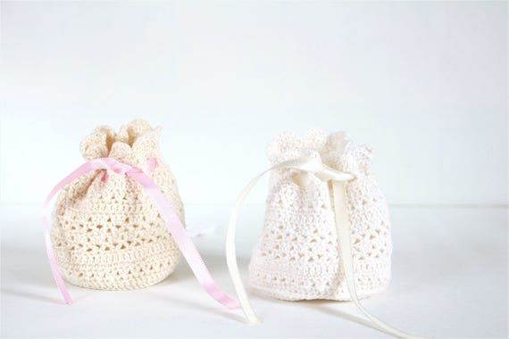 Birthday gift for women jewelry bag crochet bag for travel like this item negle Images